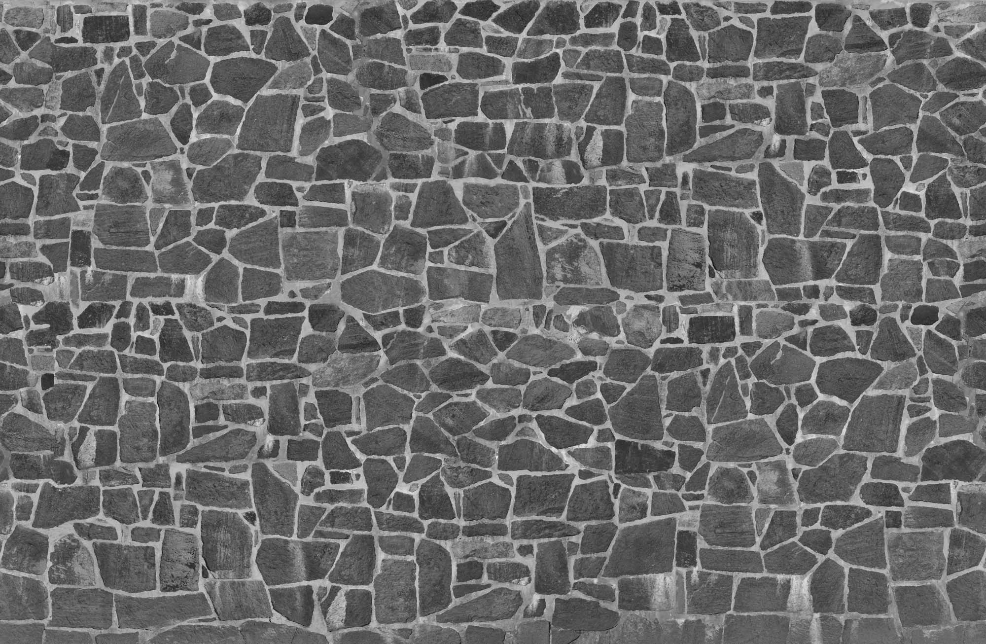 mural pared de piedra