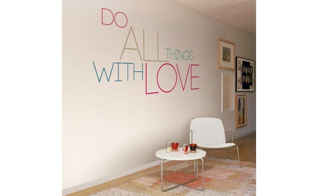 mural do all with love 1
