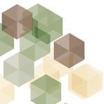 3D Cubes Mural