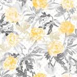 wallpaper roses gold jungle