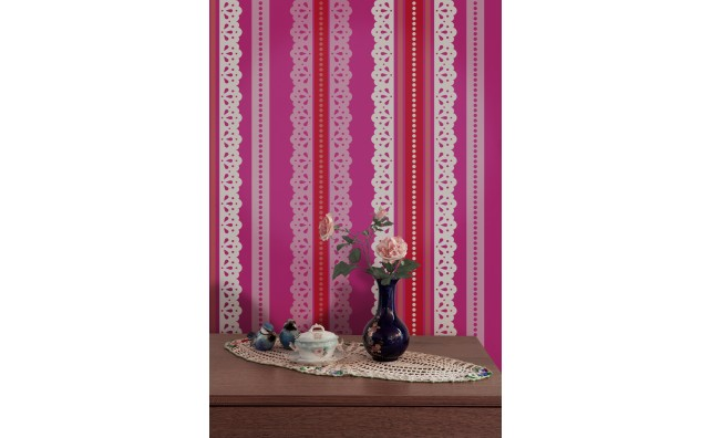 wallpaper,Catalina,Estrada,blue,lace,white