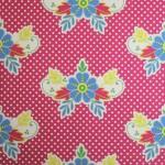 Catalina Estrada Wallpaper Lace Fuchsia