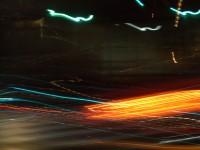Neon Night Mural