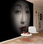 Oriental Face Mural