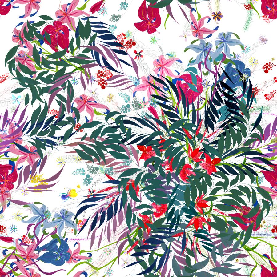 Mural Flores Vivas