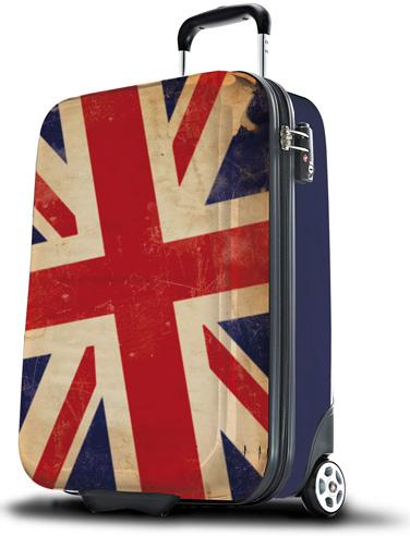 Union Jack suitcase