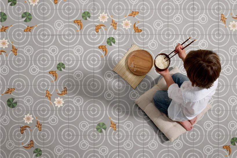 Japanese Floor Tiles