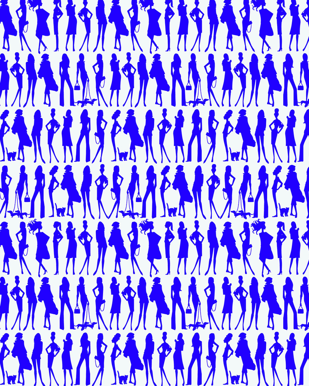 Jordi Labanda Wallpaper Bond Girls 2