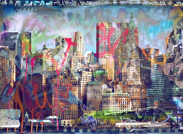 Mural Ciudad Graffiti