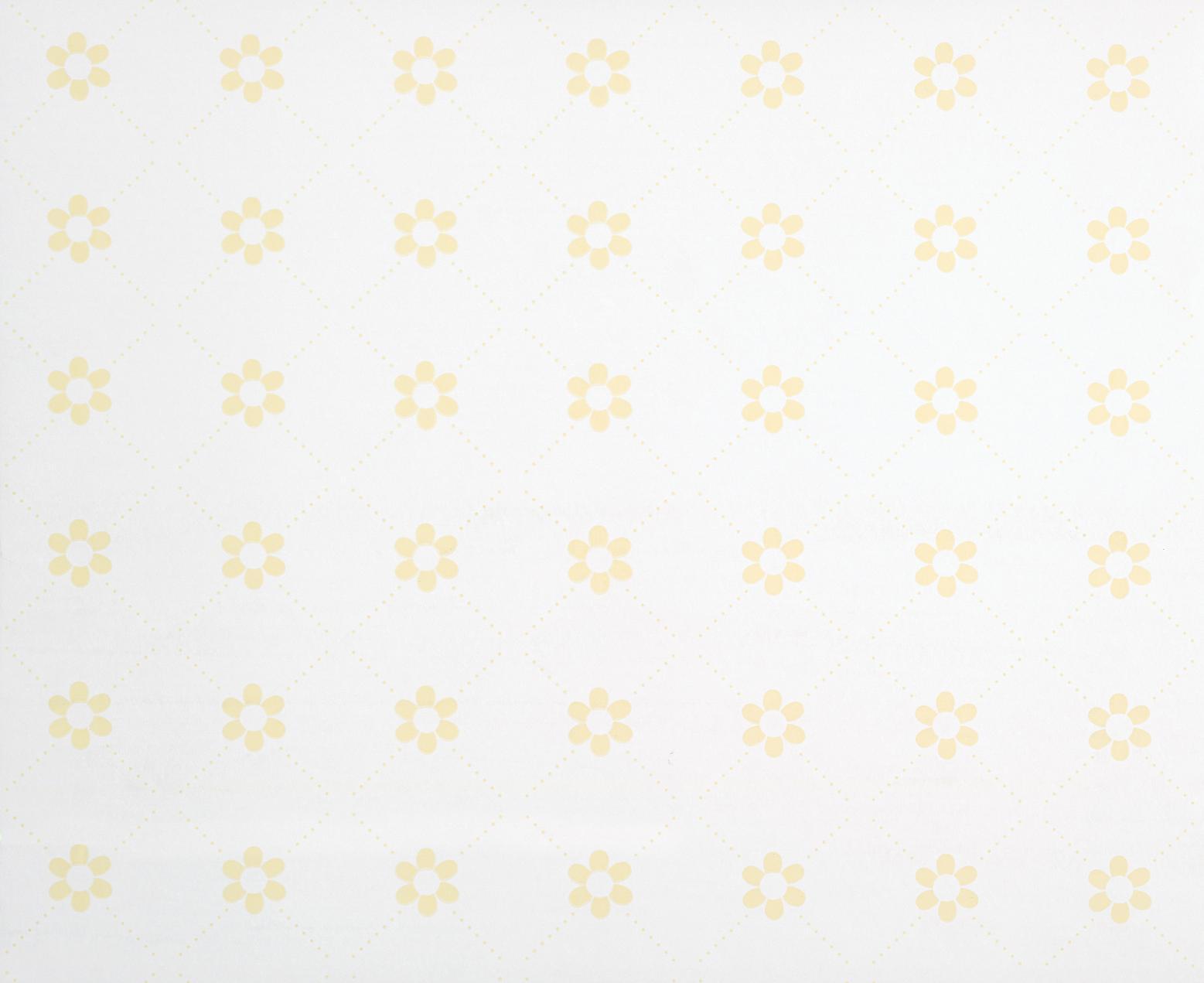 Papel pintado Margarita amarillo