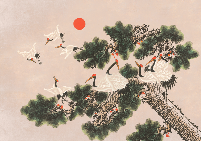 Mural Ukiyo Rose