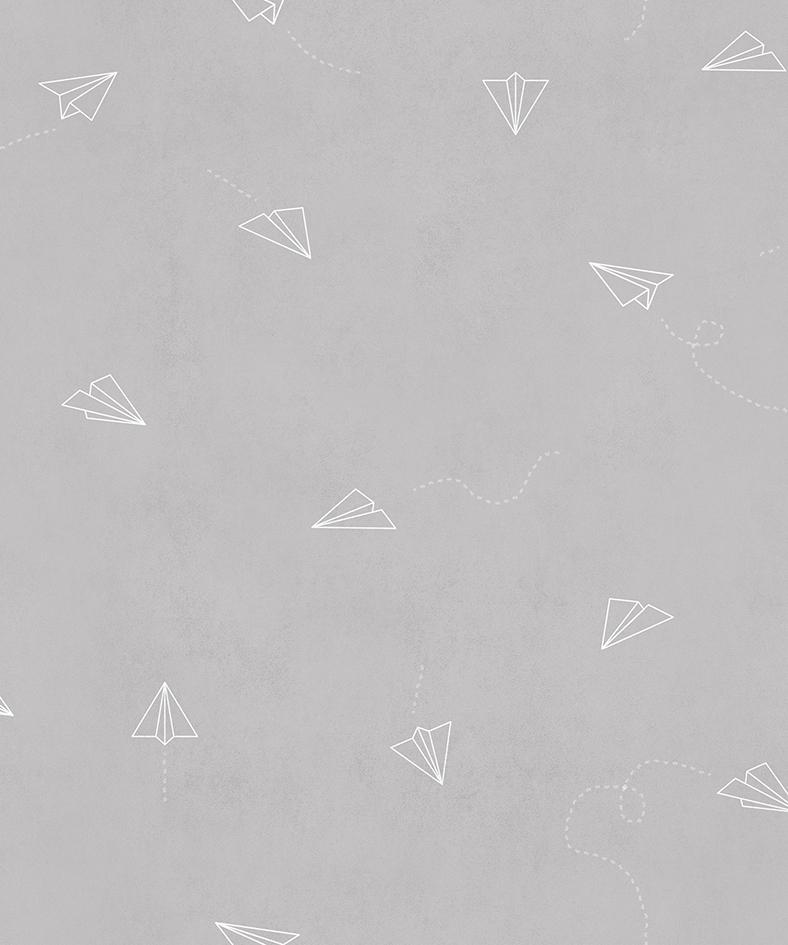 Papel pintado Lindbergh Full Grey