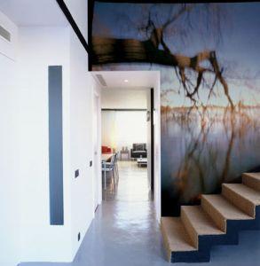 Mural Lago y Naturaleza