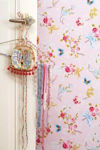 Papel Pintado Mariposas Rosa