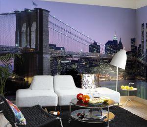 Mural Paisaje Nueva York 2