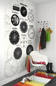 Mural Relojes y Horas
