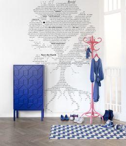 Mural Árbol con Texto