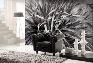 Mural Planta Blanco y Negro