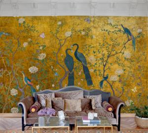 Mural Edo Gold