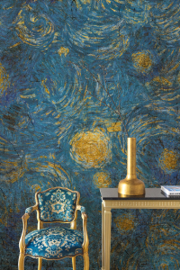 Mural Vincent Blue