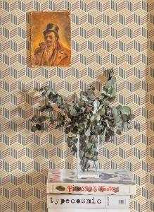 Papel pintado Straw Amarillo