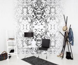 Mural Formas y Sombras Blanco y Negro