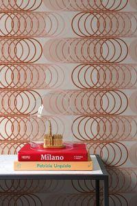 Papel Pintado Circles Cinnamon