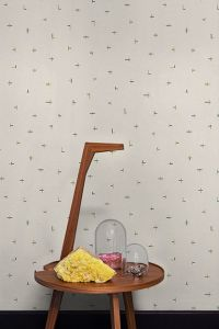Papel Pintado Croci Mustard