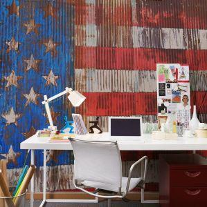 Mural Stars & Stripes