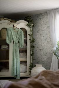Papel pintado Laura´s Cottage Green