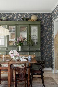 Papel pintado Laura´s Cottage Blue