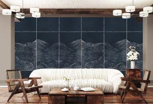 Mural Waves Silver