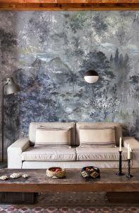 Mural Glass Silver