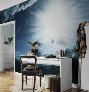 Mural Luz bajo el Mar