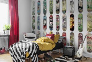Mural Skateboard Blanco