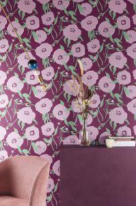 Papel pintado Bunta Lilac