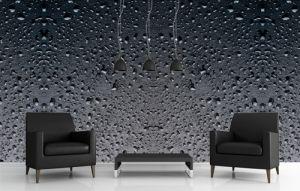 Mural Gotas de Lluvia