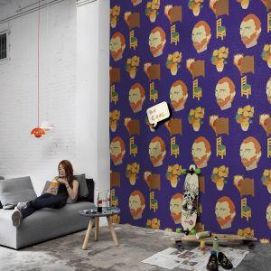 Mural Artista Warhol