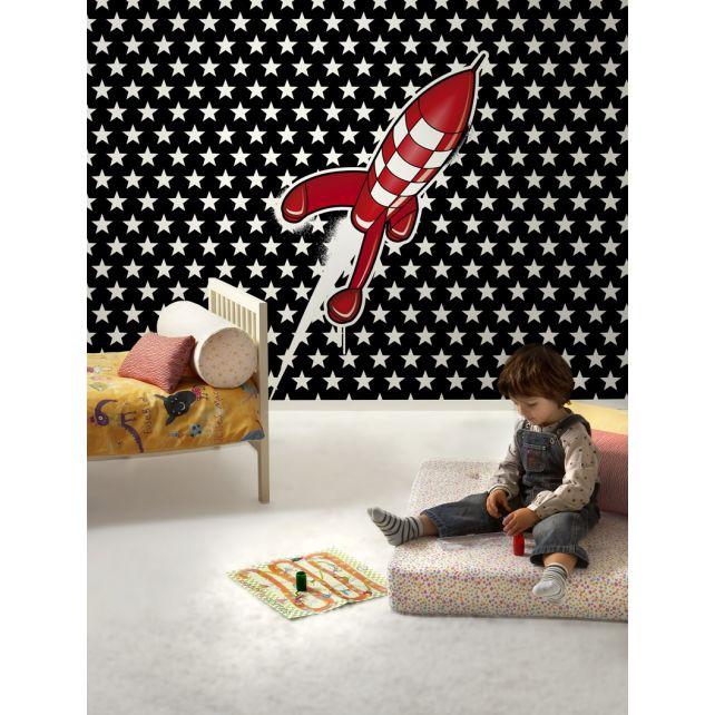 mural cohete
