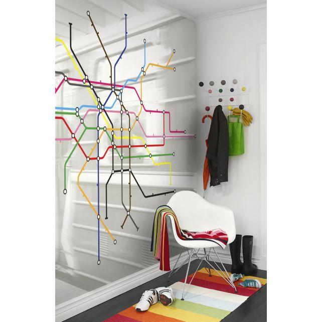 Mural Mapa Metro Colores
