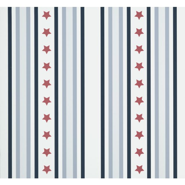 Papel Pintado Stars & Stripes Rojo