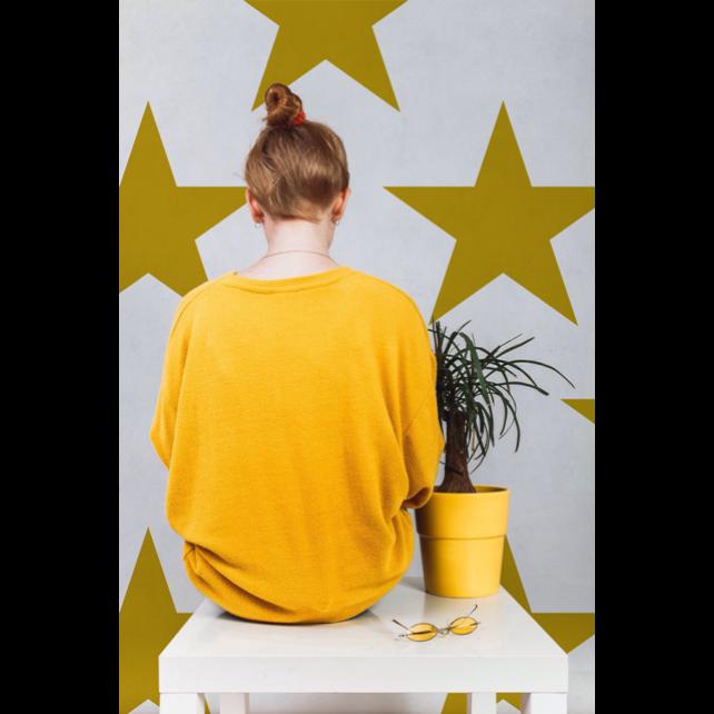 Papel pintado Hollywood Mustard