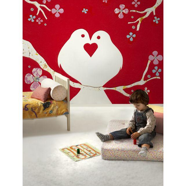 mural doves