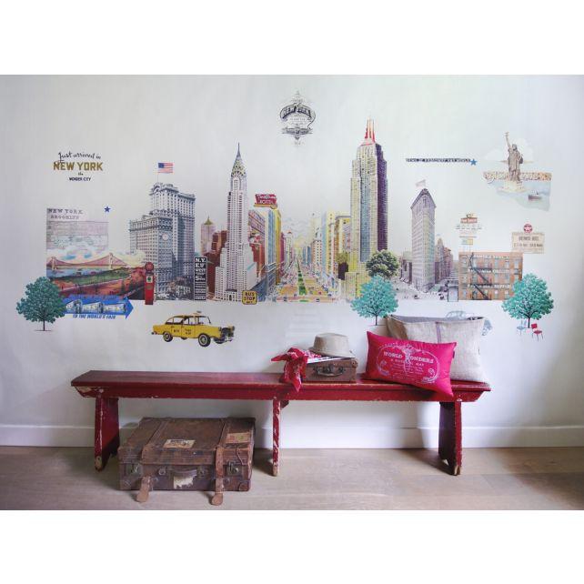 mural,iconos,ciudad,NuevaYork