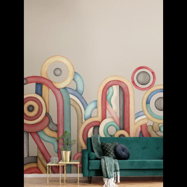 Caligrama M3401-2 mural