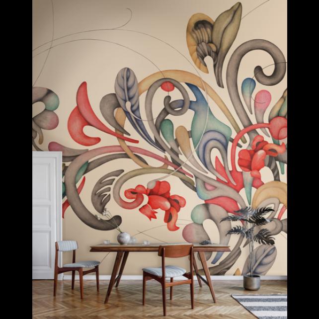 Romance M3403-1 mural