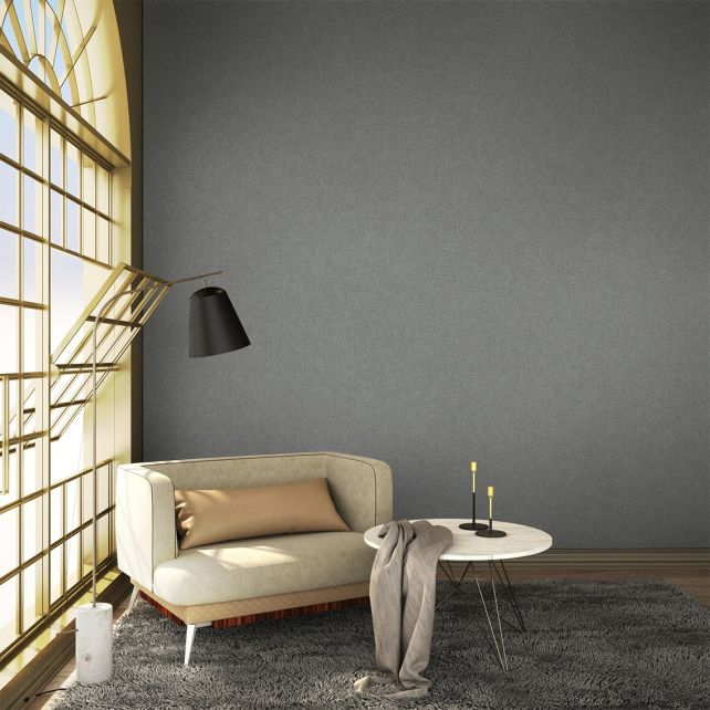 Papel pintado Blended Dark Aluminium