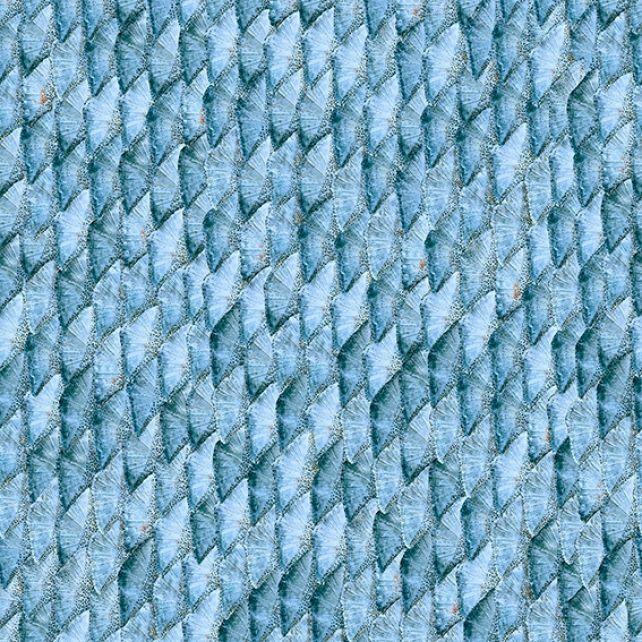 Papel Pintado Mermaid Tail Blue