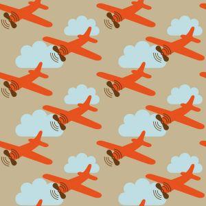 Papel Pintado Avionetas