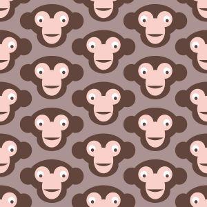 Papel Pintado Monos